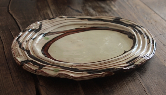 Dylan oval platter web