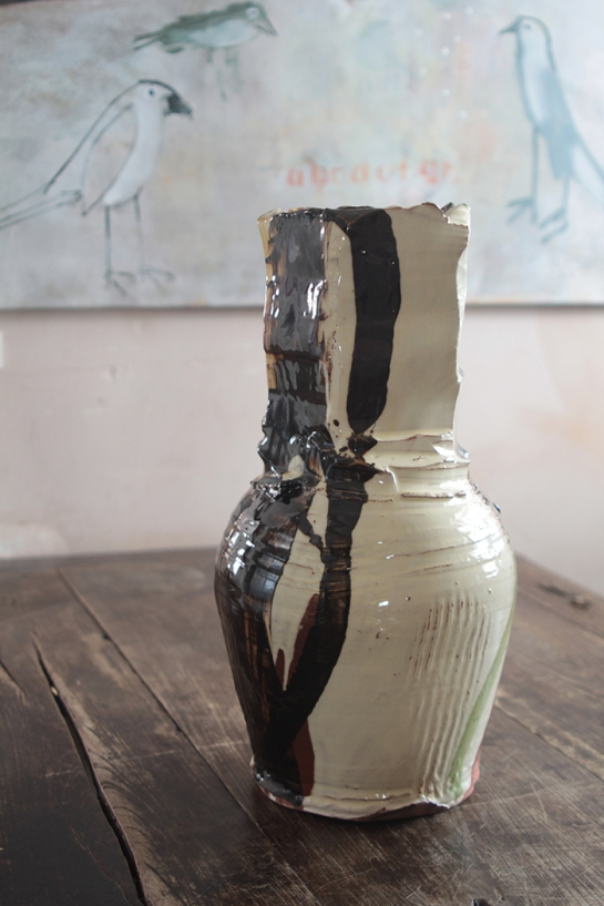 Dylan thrown vase 1 web